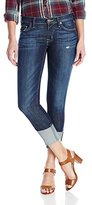 Hudson Women's Muse Crop Skinny With Five Inch-Cuff 5-Pocket Jean