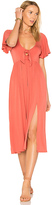 Rachel Pally X REVOLVE Romelo Dress in Coral. - size L (also in M,S,XS)
