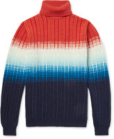 Richard James - Dégradé Wool Rollneck Sweater