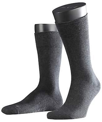 Falke Airport Short Socks, Charcoal Melange