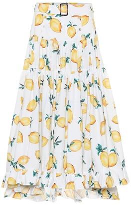Alexandra Miro Exclusive to Mytheresa Penelope printed cotton maxi skirt