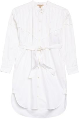 Burberry Aronia Abizt Long Sleeve Shirt Dress