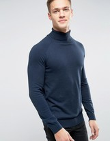 Selected Roll Neck Knit