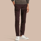 Burberry Tailored Cotton Wool Blend Trousers