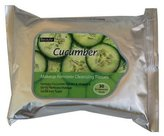 New Beauty Treats Cucumber Makeup Remover Cleansing Tissues - 30 Pack by Beauty Treats