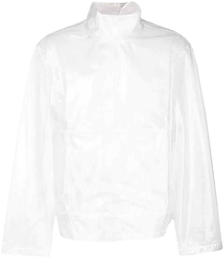 Helmut Lang vinyl pullover