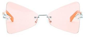 Karen Walker Paradise 57MM Butterfly Sunglasses