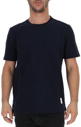 Thom Browne Center-Back Stripe Crewneck T-Shirt