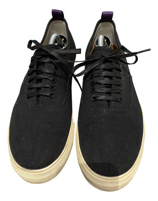 Eytys Black Cloth Trainers