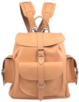 Grafea Peaches & Cream Medium Leather Rucksack Peach