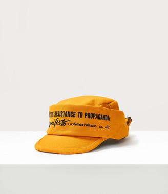 Vivienne Westwood Manifesto Hat Orange