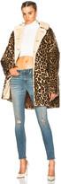 R 13 Leopard Huntington Coat