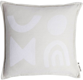 Pony Rider Modern Light Cotton Cushion Cover