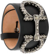 Salvatore Ferragamo double Gancio swarovski bracelet