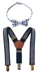 Mud Pie Bow Tie & Suspender Set