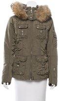 Bogner Fur-Trimmed Padded Jacket