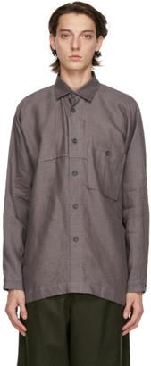 Issey Miyake Grey Linen Shirt