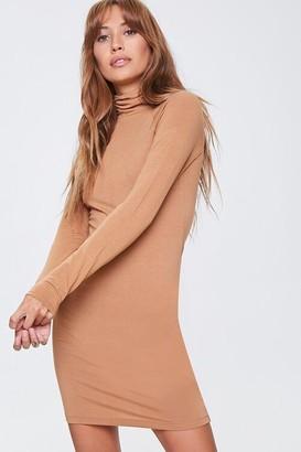 Forever 21 Turtleneck Mini Dress