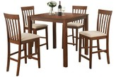 ACME Furniture 5 Piece Martha Counter Height Dining Set Wood/Country Brown - Acme