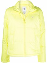 Thumbnail for your product : adidas Short Puffer logo jacket