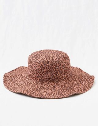 aerie Printed Wide Brim Hat