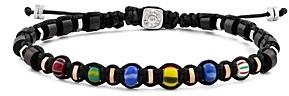 Tateossian Macrame Ghana Bead Bracelet