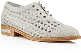 Freda Salvador Wish Woven Studded Oxfords