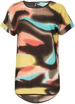 Izabel London Maple Print T-Shirt Top