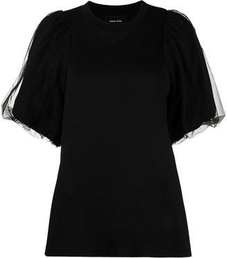 Simone Rocha puff-sleeve T-shirt