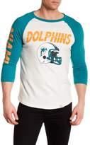 Junk Food Clothing Miami Dolphins Raglan Tee
