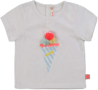 Billieblush Girl's Ice Cream Graphic Short-Sleeve Baby Tee, Size 12M-3