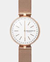 Skagen Hybrid Smartwatch Signatur Connected Rose Gold-Tone