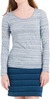 Max Studio Space Dyed Jersey Long Sleeved Tee