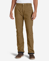 Eddie Bauer Men's Lined Canvas Mountain Pants