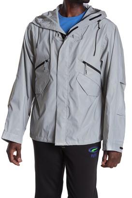 Puma King Reflective Hooded Windbreaker Jacket