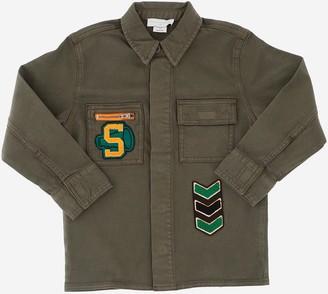 Stella McCartney Gren Pure Organic Cotton Boy's Casual Shirt