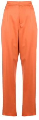 Marques Almeida Marques'Almeida high-waisted suit trousers