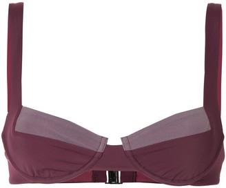 FELLA colour block Casanova bikini top