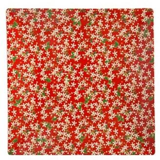 Maxwell & Williams Festive Blossom Square Platter 30cm Gift Boxed