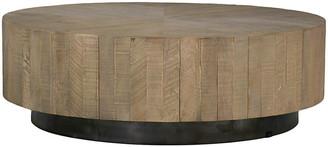 Colton Coffee Table - Charcoal Oak - Gabby - charcoal oak/black