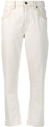Brunello Cucinelli High Waisted Jeans