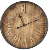 Ink + Ivy INK+IVY Arden Wall Clock, One Size , Brown