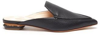 Nicholas Kirkwood Beya' metal heel leather mules