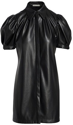 Jem Faux Leather Mini Dress