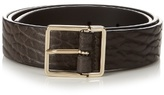 Paul Smith Slim Debossed-leather Belt