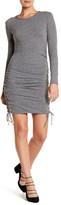 Pam & Gela Lace-Up Bodycon Dress