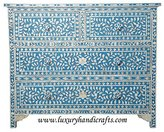 Luxury Handicrafts Floral Chest of Four Drawer