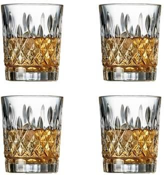Salt & Pepper Bond Harding Tumbler Glass Set of 4