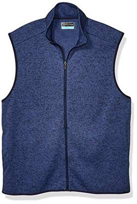 PGA TOUR Men's Fleece Back Vest