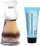 Menu men-u men-ü DB Premier Shave Brush with Chrome Stand - White